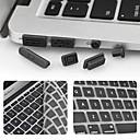 hesapli Mac Klavye Kılıfları-koruyucu klavye filmi ve anti-toz Enkay ultra-ince retina ekran / hava ile macbook pro için evrensel fişler