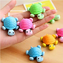 cheap Drawing & Writing Instruments-Special Design Tortoise Shaped Eraser(Random Color) For School / Office