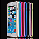 Para iPhone 8 iPhone 8 Plus iPhone 6 iPhone 6 Plus Carcasa Funda Antigolpes Ultrafina Acolchada Funda Color sólido Dura Metal para Apple