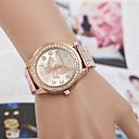 Χαμηλού Κόστους Γυναικεία ρολόγια-yoonheel Γυναικεία Ρολόι Καρπού απομίμηση διαμαντιών Μέταλλο Μπάντα Μοντέρνα / Κομψό / Προσομοιωμένο ρολόι Diamond Ασημί / Χρυσό / Χρυσό Τριανταφυλλί / Ενας χρόνος / SODA AG4