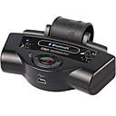 hesapli Bluetooth Araba Setleri/El-kullanılmadan-bluetooth araç kitleri dahili pil mp3 çalar direksiyon hoparlörü taşınabilir destek a2dp araç şarj cihazı
