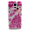 Buy Flower Girl Pattern TPU Relief Back Cover Case Samsung Galaxy S5Mini