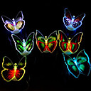 cheap Display Models-Light Colorful Butterflies /LED Paste Colorful Light-emitting Toy(1 PS)