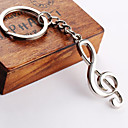cheap Brooches-Keychain Bicone Shape Alloy For Party / Daily / Casual / Couple's