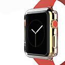 ieftine Carcase Ceas Apple-tpu transparent culoare de protecție acoperire moale caz pentru ceas de mere 3 serie 2 1 iwatch (42mm 38mm)