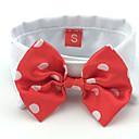 preiswerte Bekleidung & Accessoires für Hunde-Katze Hund Krawatte/Fliege Hundekleidung Schleife Schwarz Rot Baumwolle Kostüm Für Haustiere Herrn Damen Urlaub Hochzeit