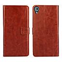 ieftine Carcase / Huse de HTC-Maska Pentru HTC Portofel / Titluar Card / Cu Stand Carcasă Telefon Mată Greu PU piele