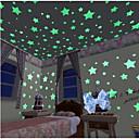 preiswerte Ferngläser-Formen Wand-Sticker Leuchtende Wand Sticker Dekorative Wand Sticker, Vinyl Haus Dekoration Wandtattoo Wand