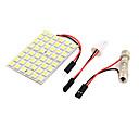 hesapli LED Araba Ampulleri-YouOKLight Festoon Ampul SMD 5050 600lm