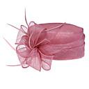 hesapli Saç Takıları-Kadın Parti Yaz Keten Melon Şapka