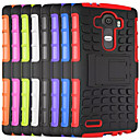 cheap Cases / Covers for LG-Case For LG L90 LG G2 LG G3 LG L70 Other LG LG G4 LG Case Shockproof with Stand Back Cover Armor Hard PC for LG G4 Stylus/LS770