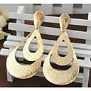 preiswerte Ohrringe-Damen Tropfen-Ohrringe - vergoldet Erklärung, Modisch Gold / Farbbildschirm Für