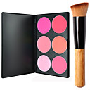 cheap Makeup & Nail Care-6 Colors Powders Blush Dry / Combination / Oily Face Makeup Cosmetic