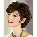 hesapli Makyaj ve Tırnak Bakımı-Sentetik Peruklar Bukle Sentetik Saç Peruk Kadın's Şort Bonesiz