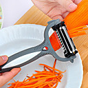 cheap Bathroom Gadgets-3 in 1 Rotary Fruit Peeler360 Degree Carrot Potato Slicer Kitchen Tools