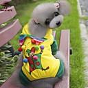 preiswerte Bildschirm Schutzfolien für Huawei-Katzen / Hunde Mäntel / Kapuzenshirts / Hosen Gelb Hundekleidung Winter Hochzeit / Cosplay