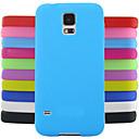 voordelige Galaxy J-serie hoesjes / covers-hoesje Voor Samsung Galaxy Samsung Galaxy hoesje Achterkant Effen Kleur Siliconen voor S4 Mini