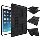 cheap iPod Cases/Covers-Case For Apple iPad Mini 4/3/2/1 iPad 4/3/2 Air 2 iPad Air Shockproof with Stand Back Cover Solid Color Hard Silicone for iPad (2017) Pro 10.5 Pro 9.7