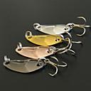 hesapli Balık Zokaları ve Sinekleri-4 adet Przynęty wędkarskie Kaşıklar Metal Deniz Balıkçılığı Genel Balıkçılık