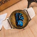 ieftine Ceasuri Bărbați-Bărbați Ceas de Mână Quartz cald Vânzare / Piele Bandă Analog Vintage Casual Negru / Alb / Albastru - Verde Albastru Roz
