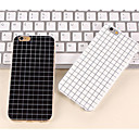 baratos Capinhas para iPhone-Capinha Para Apple iPhone 8 iPhone 8 Plus iPhone 6 iPhone 6 Plus iPhone 7 Plus iPhone 7 Estampada Capa traseira Estampa Geométrica Macia