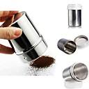hesapli Çay Takımları-çikolata tozu kakao unu shaker pudra şekeri cappuccino kahve elek şişesi