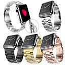 お買い得  PS4 用アクセサリー-時計バンド のために Apple Watch Series 4/3/2/1 Apple バタフライバックル ステンレス リストストラップ