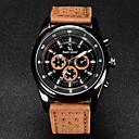 ieftine Brățări-V6 Bărbați Ceas de Mână Aviation Watch Quartz Quartz Japonez Piele Negru / Maro / Khaki Ceas Casual Analog Charm - Negru Maro Kaki Doi ani Durată de Viaţă Baterie / Mitsubishi LR626