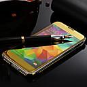 tanie Uchwyty-Kılıf Na Samsung Galaxy Samsung Galaxy Etui Lustro Pełne etui Solid Color PC na S5