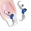 cheap Makeup & Nail Care-1 pcs 3D Nail Stickers Water Transfer Sticker nail art Manicure Pedicure Abstract / Cartoon / Fashion Daily