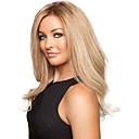 ieftine Machiaj & Îngrijire Unghii-Peruci Sintetice Ondulat Stil Fără calotă Perucă Blond Blond Păr Sintetic Blond Perucă Lung Halloween Wig