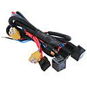 povoljno Pribor za voće i povrće-H4 / 9003 osigurača priključak kabelskog snopa prednjih pojačani relej žica utičnica
