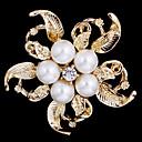 hesapli Küpeler-Kadın's İnci Gümüş Altın Mücevher Düğün Parti Günlük Kostüm takısı