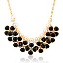Buy Jewelry Statement Necklaces Party / Daily Casual Alloy Imitation Pearl Resin 1pc Women Wedding Gifts