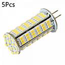 hesapli LED Şerit Işıklar-YWXLIGHT® 5pcs 5W 450-500 lm G4 LED Bi-pin Işıklar MR11 126 led SMD 3014 Dekorotif Sıcak Beyaz Serin Beyaz DC 24V AC 24V AC 12V DC 12V