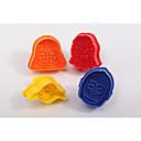 Недорогие Приборы для выпечки-Инструменты для выпечки пластик Своими руками Торты Формы для пирожных 1шт