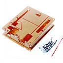 preiswerte Stromkabel & AC Adapterkabel-Bei Gehäuse transparenten Acryl-Box durchsichtige Abdeckung für Arduino UNO r3 Bord r3