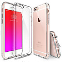 billige iPhone-etuier-Etui Til Apple iPhone 6 Plus / iPhone 6 Transparent Bagcover Ensfarvet Blødt TPU for iPhone 6s Plus / iPhone 6s / iPhone 6 Plus