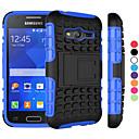 hesapli Samsung Tab Serisi Kılıfları / Kapaklar-Pouzdro Uyumluluk Samsung Galaxy Samsung Galaxy Kılıf Şoka Dayanıklı Satandlı Arka Kapak Zırh PC için Young 2 Grand Prime Core Prime Ace 4