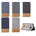 cheap Galaxy S Series Cases / Covers-Case For Samsung Galaxy Samsung Galaxy Case Wallet / Card Holder / with Stand Full Body Cases Lines / Waves PU Leather for S6 edge plus / S6 edge / S6