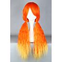 Buy Lolita Wigs Sweet Orange Color Gradient Wig 70 CM Cosplay Patchwork