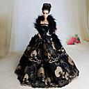 preiswerte Barbie Kleidung-Party / Abends Kleider Für Barbie-Puppe Spitze / Organza Kleid Für Mädchen Puppe Spielzeug