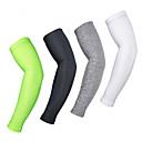 ieftine Armwarmers sau legwarmers și apărătoare de pantofi-1 Pair Arsuxeo Mâneci Modă Ușor Cremă Cu Protecție Solară Rezistent la UV Bicicletă Negru Gri Verde pentru Bărbați Adulți Bicicletă șosea Bicicletă montană Pescuit / Înaltă Elasticitate / Respirabil