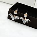 preiswerte Damenuhren-Damen Kristall Ohrstecker - Krystall Blume Silber / Golden Für Hochzeit Party Alltag