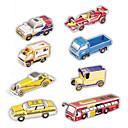 preiswerte Puzzles-3D - Puzzle Papiermodel Spielzeugautos Spielzeuge Auto 3D 8 Stücke