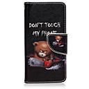 voordelige Galaxy S-serie hoesjes / covers-hoesje Voor Samsung Galaxy Samsung Galaxy hoesje Kaarthouder met standaard Flip Magnetisch Patroon Volledig hoesje Woord / tekst PU-nahka