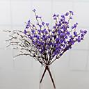 tanie Dekoracyjne naklejki-Sztuczne Kwiaty 1 Gałąź Pasterski Styl Śliwkowy Bukiety na stół