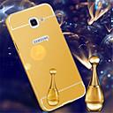 tanie Etui / Pokrowce do Samsunga Galaxy A-Kılıf Na Samsung Galaxy Samsung Galaxy Etui Galwanizowane Lustro Czarne etui Solid Color Akrylowy na A7(2016) A5(2016) A3(2016) A9