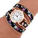 cheap Makeup & Nail Care-Women's Bracelet Watch Casual Watch PU Band Flower / Bohemian / Fashion