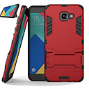 cheap Galaxy A Series Cases / Covers-Case For Samsung Galaxy Samsung Galaxy Case Shockproof / with Stand Back Cover Armor PC for A7(2016) / A5(2016) / A8